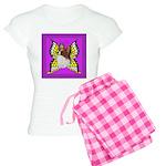 Colorful Papillion Women's Light Pajamas