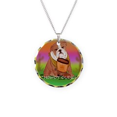 Howdy Dude English Bully Necklace