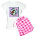 English Bulldog Women's Light Pajamas
