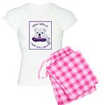 English Bulldog Puppy Women's Light Pajamas