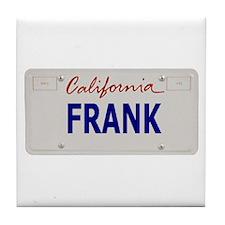 California Frank Tile Coaster
