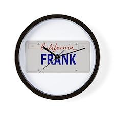 California Frank Wall Clock