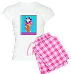 English Bulldog Diva Women's Light Pajamas