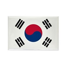 Korean Flag Rectangle Magnet