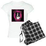 Border Collie Design Women's Light Pajamas