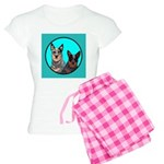 Australian Cattle Dog Pair Women's Light Pajamas