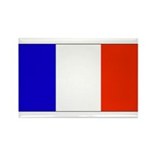 France French Blank Flag Rectangle Magnet (10 pack