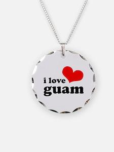 I Love Guam Necklace