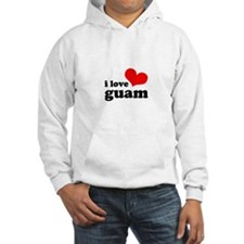 I Love Guam Hoodie