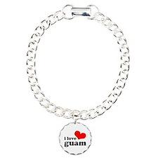 I Love Guam Bracelet