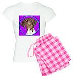 German Shorthair Pointer Head Women's Light Pajama