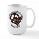 Be Groovy Tie Dye Art Large Mug