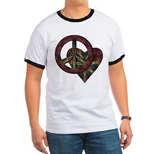 Tie Dye Peace and Love T