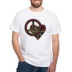 Tolerance Tie Dye Art White T-Shirt