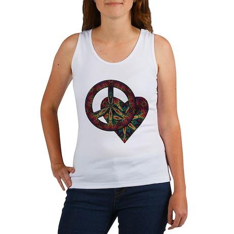 Tolerance Tie Dye Art Women's Tank Top