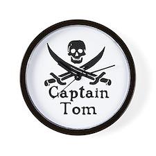 Captain Tom Wall Clock