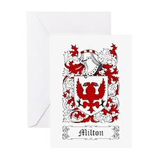 Milton Greeting Card