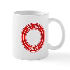 Jet Fuel Only Red Mug