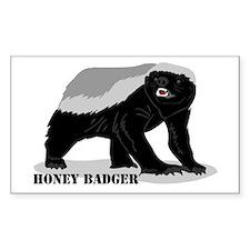 Honey Badger! Bumper Stickers