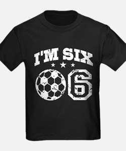 Six Year Old Soccer T