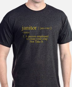funny janitor T-Shirt