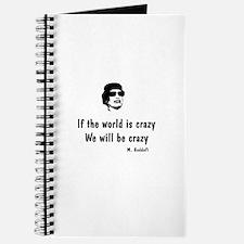 Gadaffi - If the world is crazy Journal