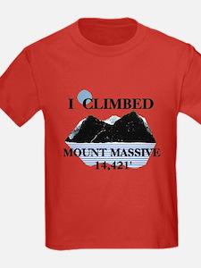 I Climbed Mount Massive T