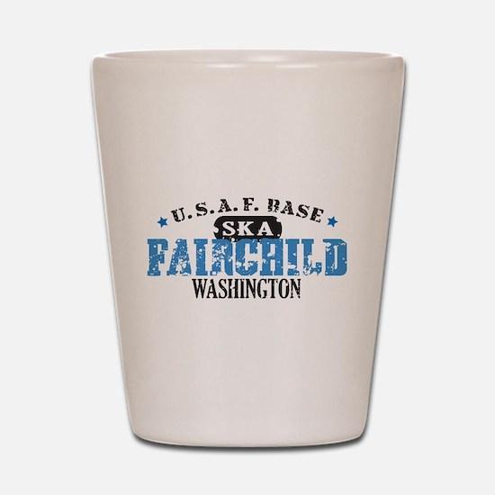 Fairchild Air Force Base Shot Glass
