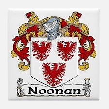 Noonan Coat of Arms Ceramic Tile