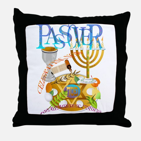 Passover Seder Throw Pillow