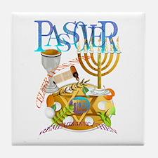 Passover Seder Tile Coaster