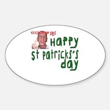 Pissed Off St. Patrick's Day Decal