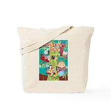 Reading Tree Tote Bag