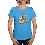 Saxony Duck Family Women's Dark T-Shirt
