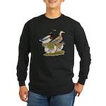 Saxony Duck Family Long Sleeve Dark T-Shirt