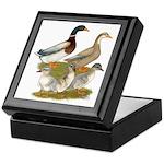Saxony Duck Family Keepsake Box