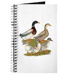 Saxony Duck Family Journal