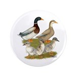 """Saxony Duck Family 3.5"""" Button (100 pack)"""