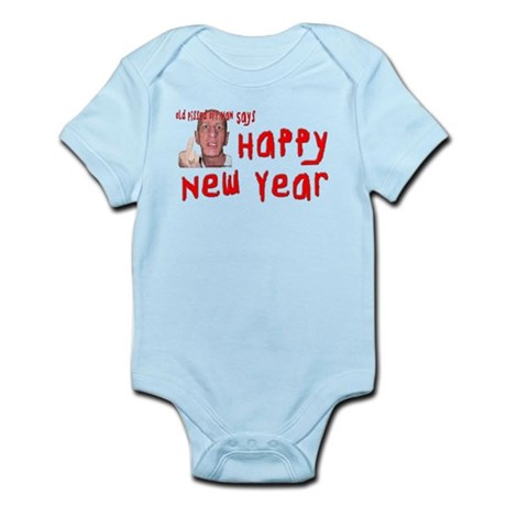 Pissed Off New Year Infant Bodysuit