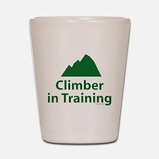 Climber in Training Shot Glass