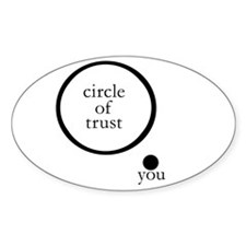 Cirlce of Trust Decal