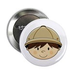 "Cute Safari Explorer 2.25"" Button (100 Pk)"