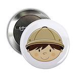 "Cute Safari Explorer 2.25"" Button (10 Pk)"