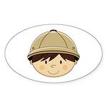 Cute Safari Explorer Sticker (50 Pk)