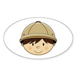 Cute Safari Explorer Sticker (10 Pk)