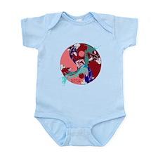 YIN & YANG UNITY FISH Infant Bodysuit