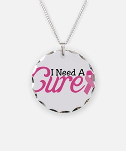I Need A Cure Necklace