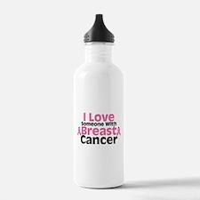 I Love Someone Water Bottle
