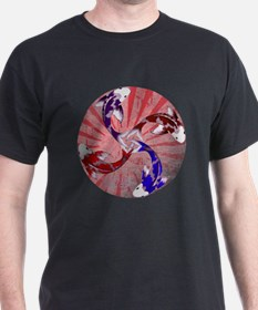 JAPAN UNITY FISH WITH FLAG T-Shirt