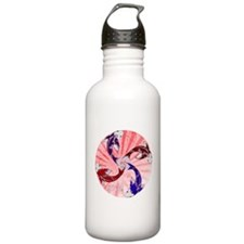 JAPAN UNITY FISH WITH FLAG Water Bottle